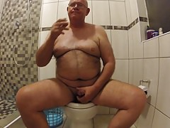 Beating my meat in the Toilet